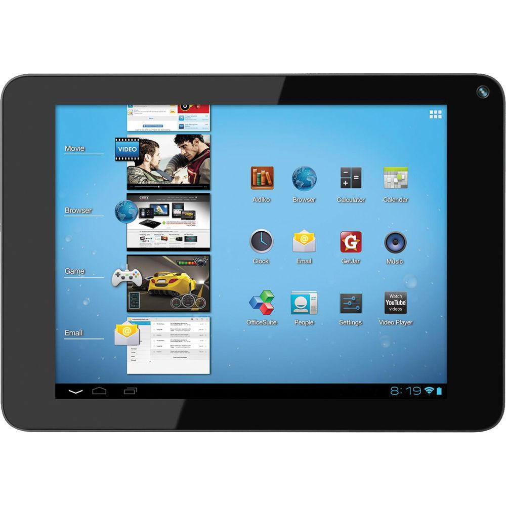 coby 4gb kyros mid8048 8 tablet black mid8048 4 b h rh bhphotovideo com Coby Kyros MID7012 Coby Kyros Models