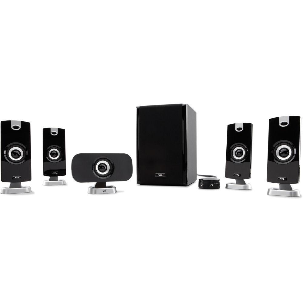Cyber Acoustics CA-5402 5.1 Powered Speaker System CA-5402 B&H