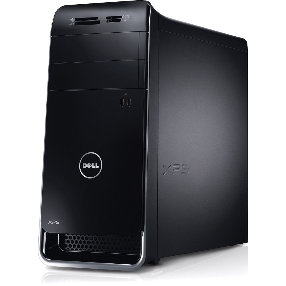 dell xps 8500 x8500 4726bk desktop computer x8500 4726bk b h. Black Bedroom Furniture Sets. Home Design Ideas