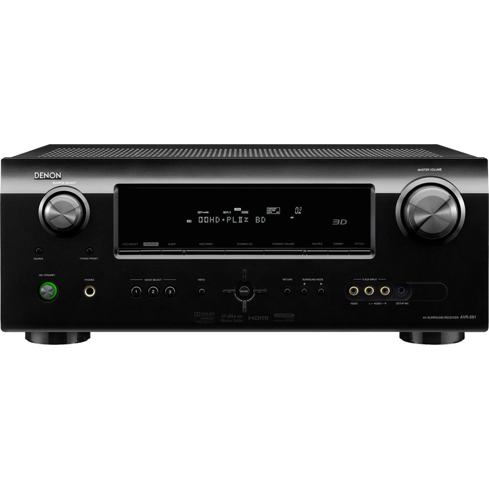 Denon AVR-591P A/V Home Theater Receiver
