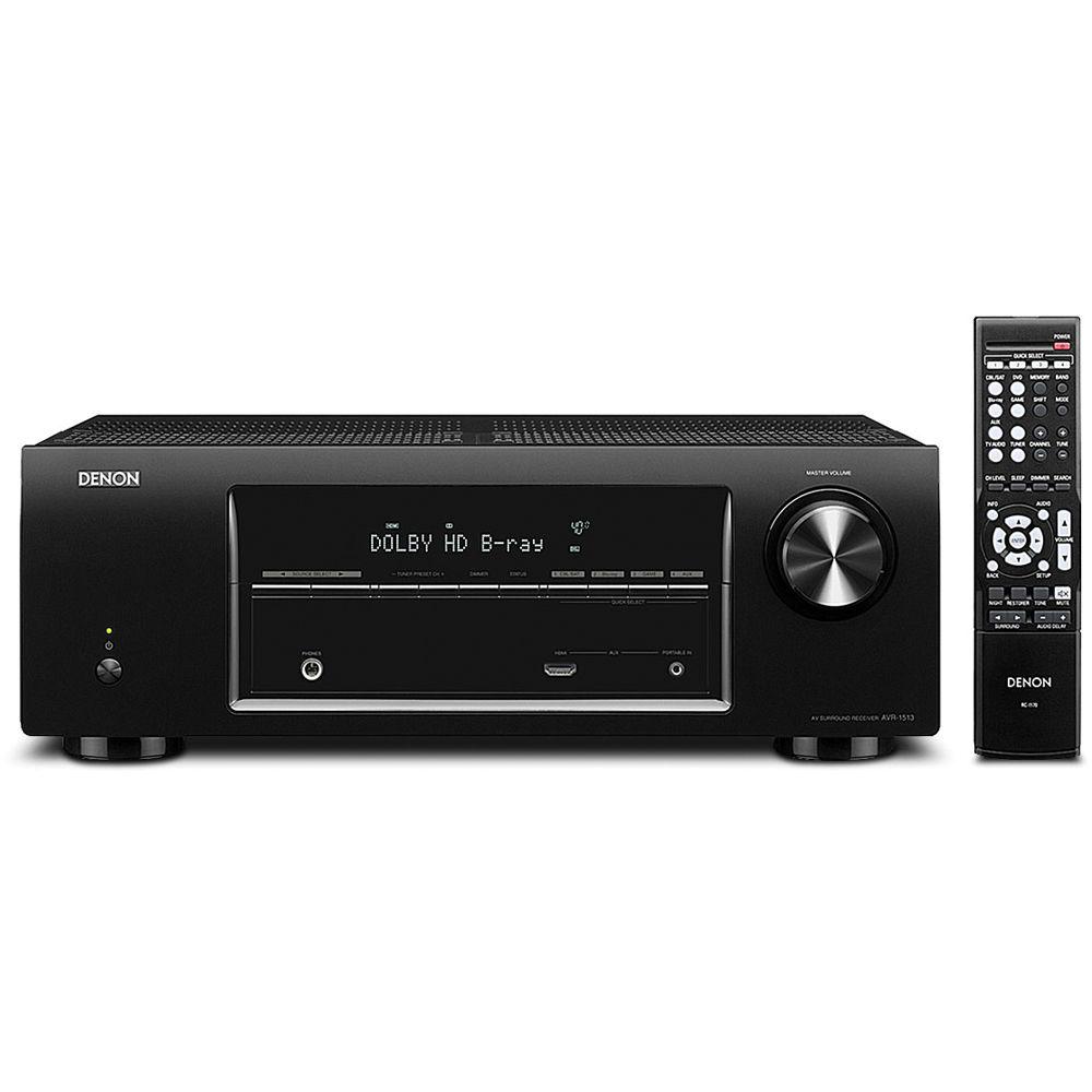 denon avr 1513 5 1 channel 3d pass through home theater avr 1513 rh bhphotovideo com Denon Stereo Amp Denon Integrated Amplifier