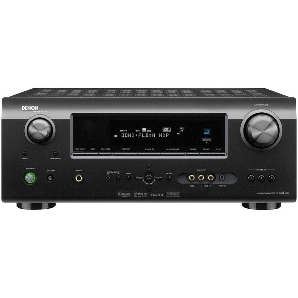 how to connect ipod to denon receiver
