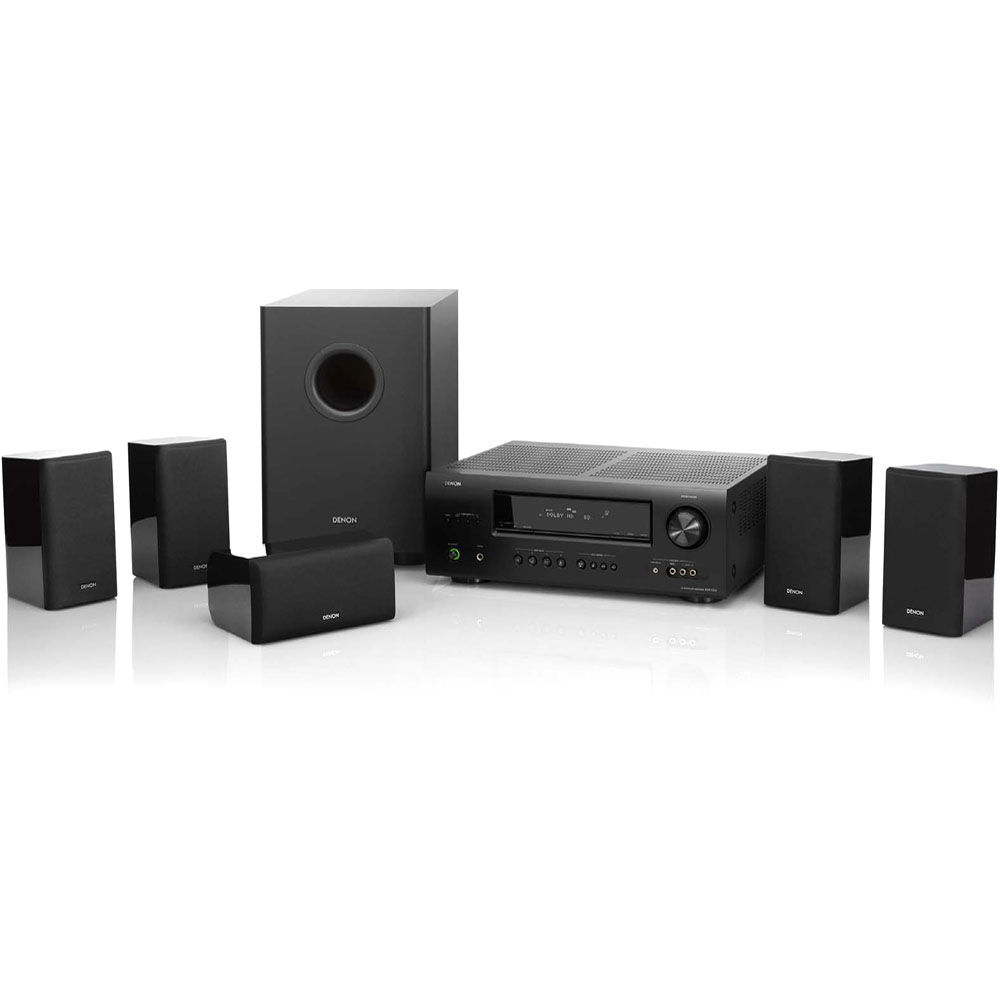 denon dht 1312xp home theater system dht 1312xp b h photo. Black Bedroom Furniture Sets. Home Design Ideas