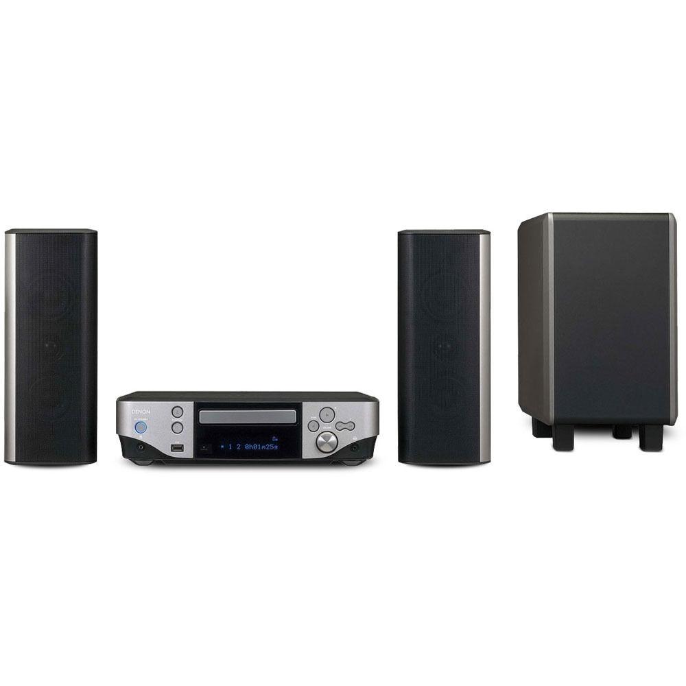 denon s 302 dvd home entertainment system s 302 b h photo. Black Bedroom Furniture Sets. Home Design Ideas