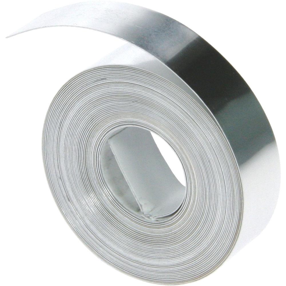 Dymo 1 2 non adhesive aluminum tape 31000 b h photo video for Plaque de metal adhesive
