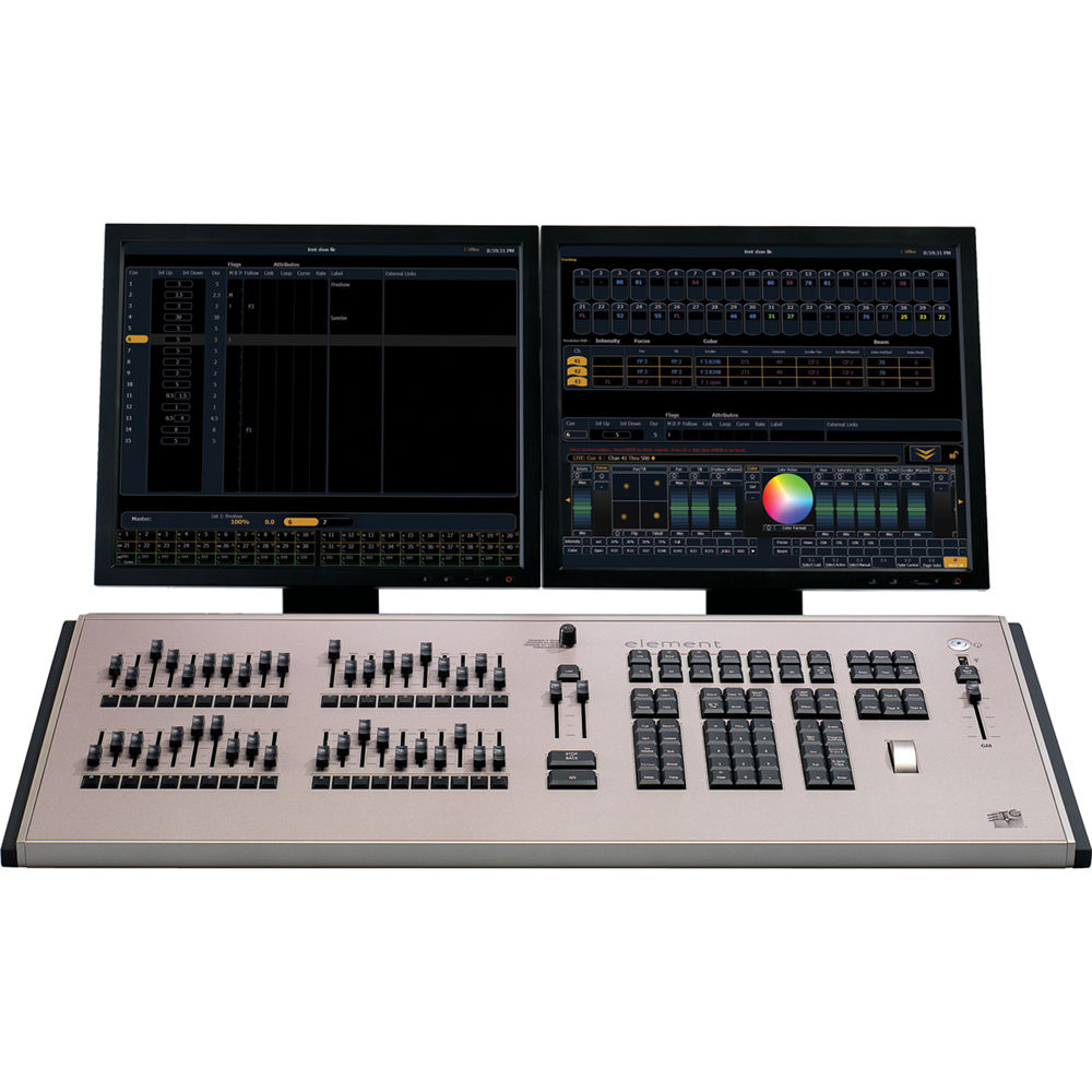 Theater Light Control System: ETC Element Control Console