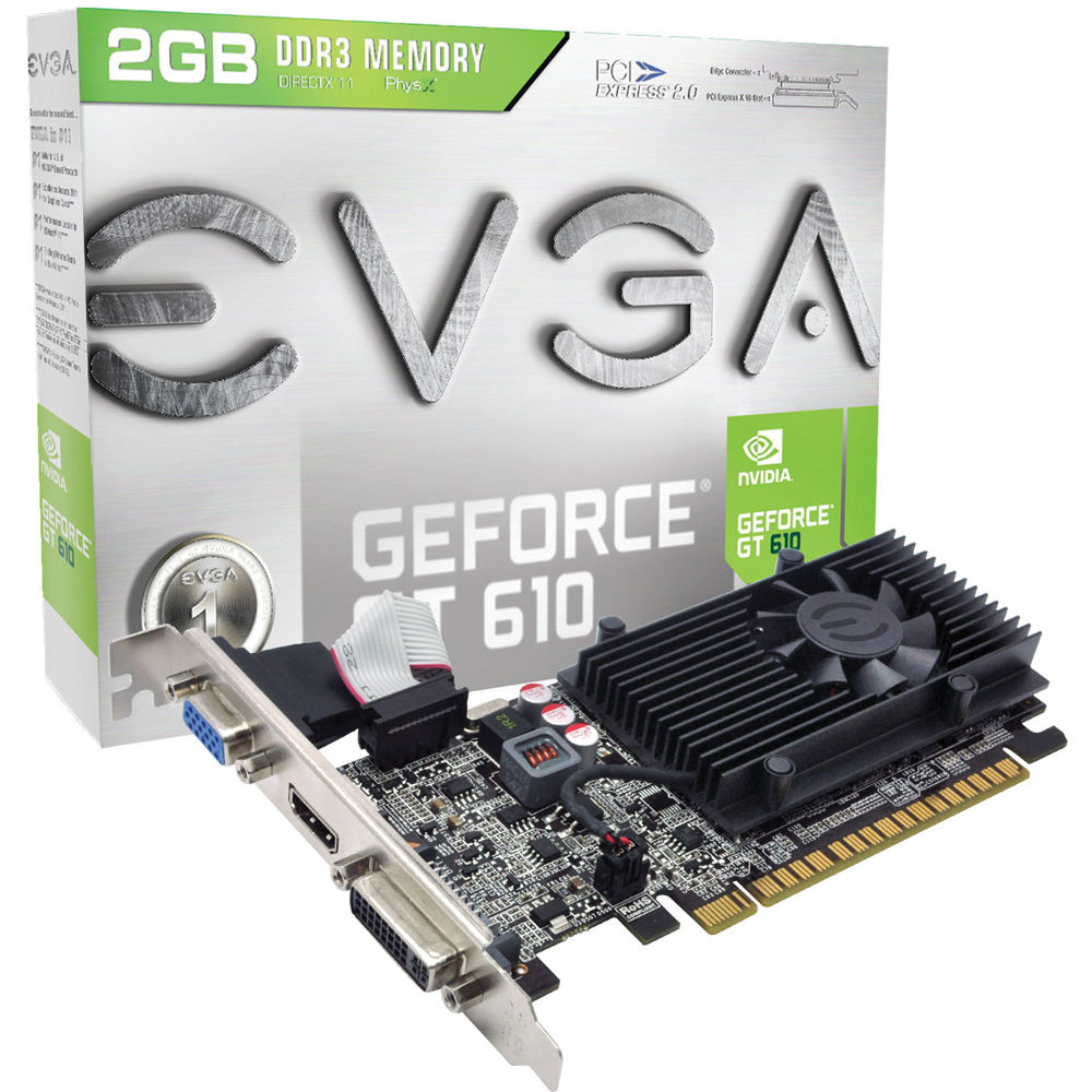 GeForce GT-610 from NVidia. Characteristics and purpose 44