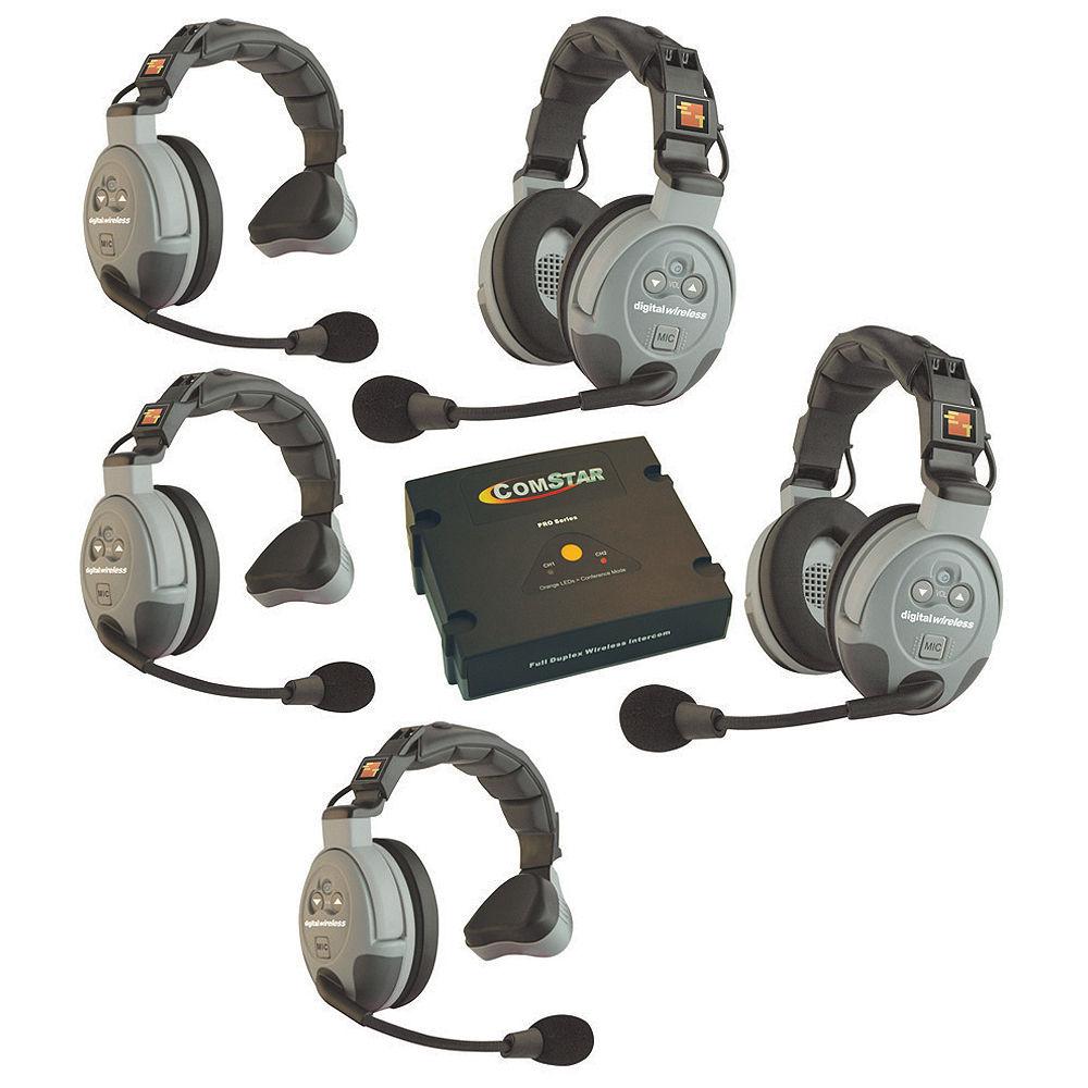 Eartec COMSTAR XT-5 5-User Full Duplex Wireless Intercom XT-5