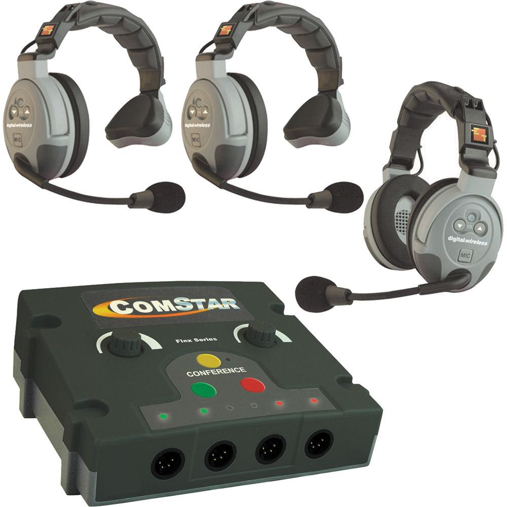 Eartec Comstar Flex Max Series 3 User Full Duplex Flex 3 B Amp H