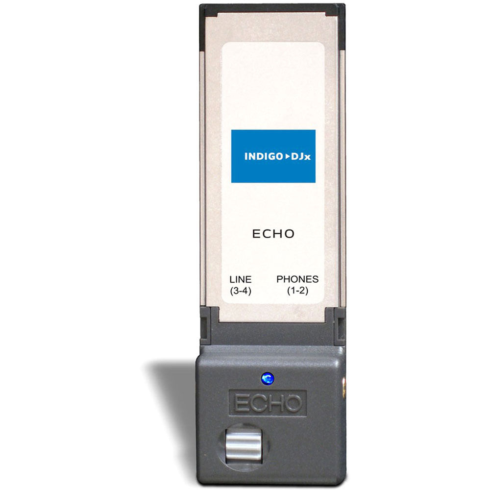 Echo Audio Indigo DJx/Indigo IOx ExpressCard Drivers for Windows 10