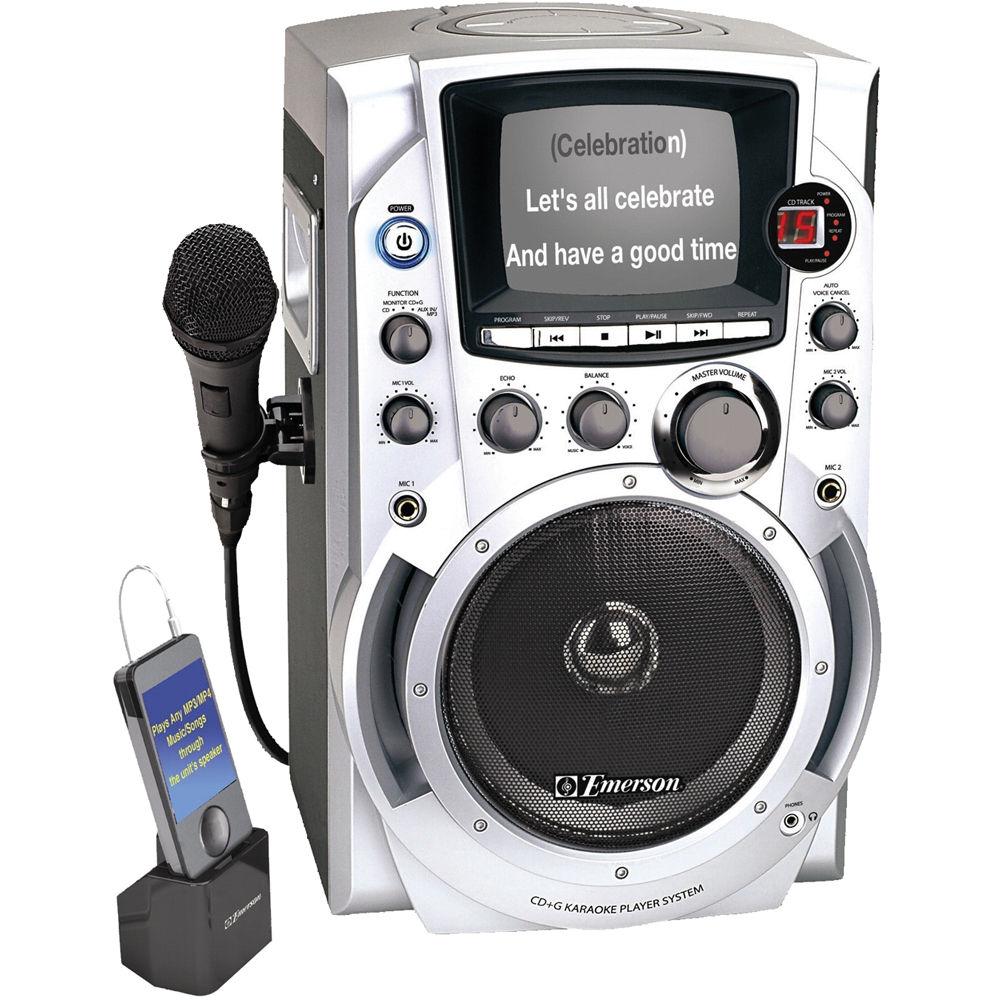 emerson karaoke machine