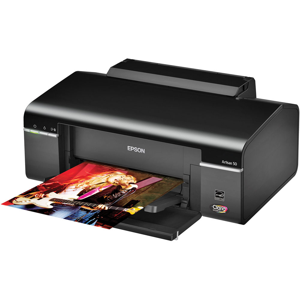 epson artisan 50 color inkjet printer c11ca45201 b h photo