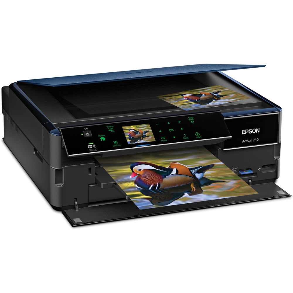 Epson Artisan 730 All In One Color Inkjet Printer C11cb18201 Bh