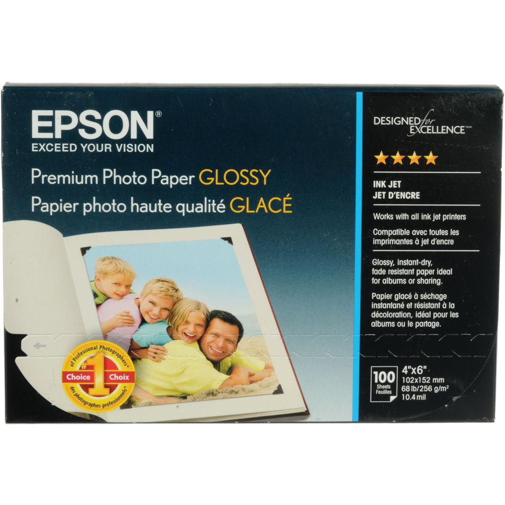 epson paper Find product information, ratings and reviews for epson ultra-premium glossy photo paper 60 sheets - white (s042181) online on targetcom.