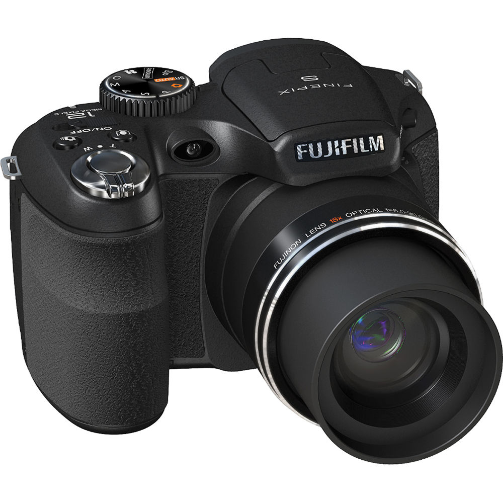 Fuji Digital Cameras: FUJIFILM S2550HD 12 MP Digital Camera (Black) 15989665 B&H