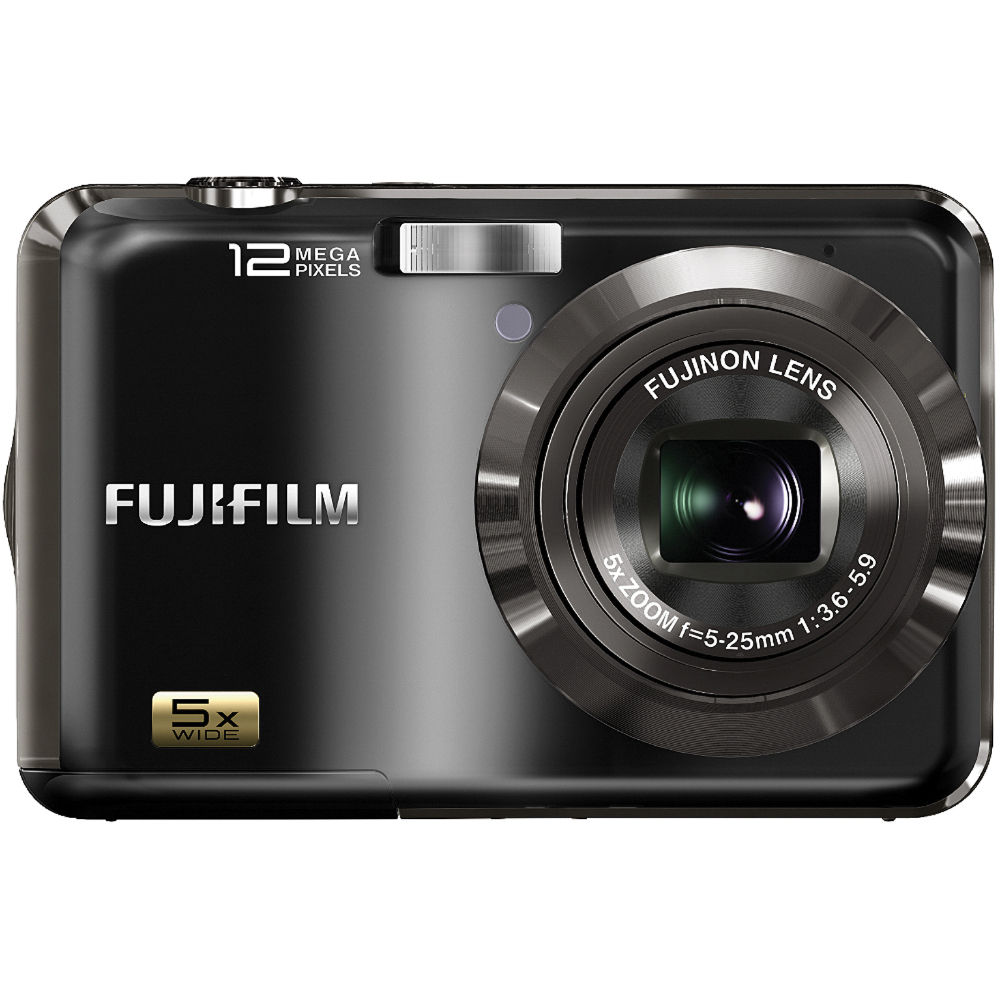 FUJIFILM AX200 12 MP Digital Camera (Black)