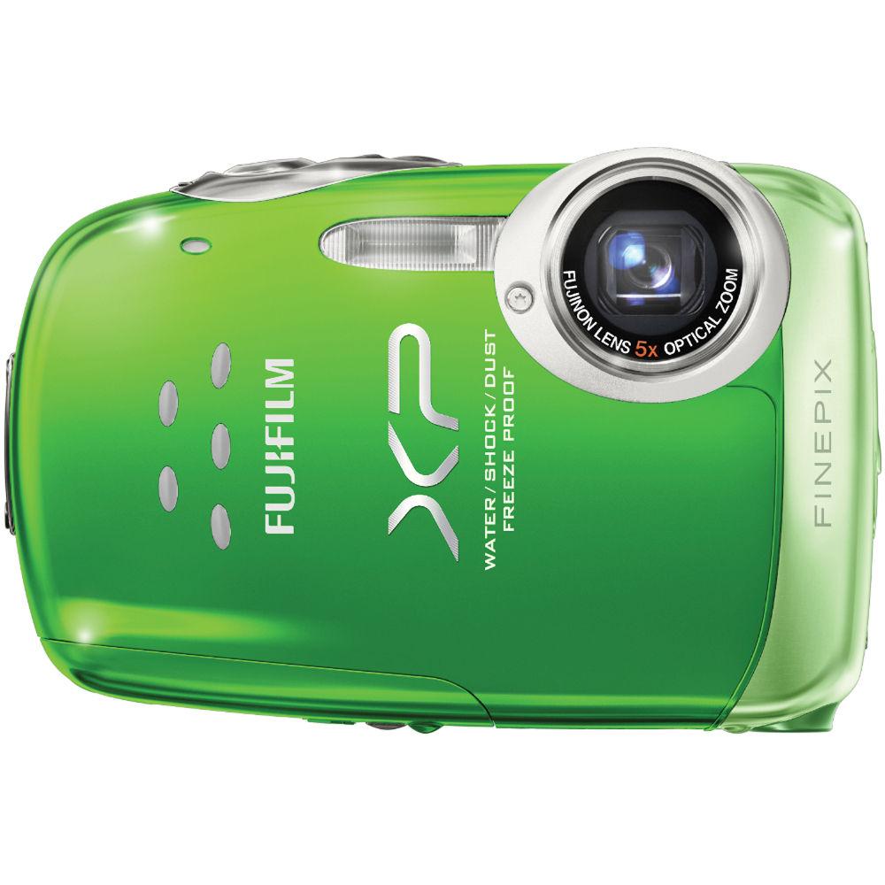 fujifilm finepix xp10 12mp digital camera green 16010784 b h rh bhphotovideo com Fuji XP 7.0 Bundle Fujifilm XP
