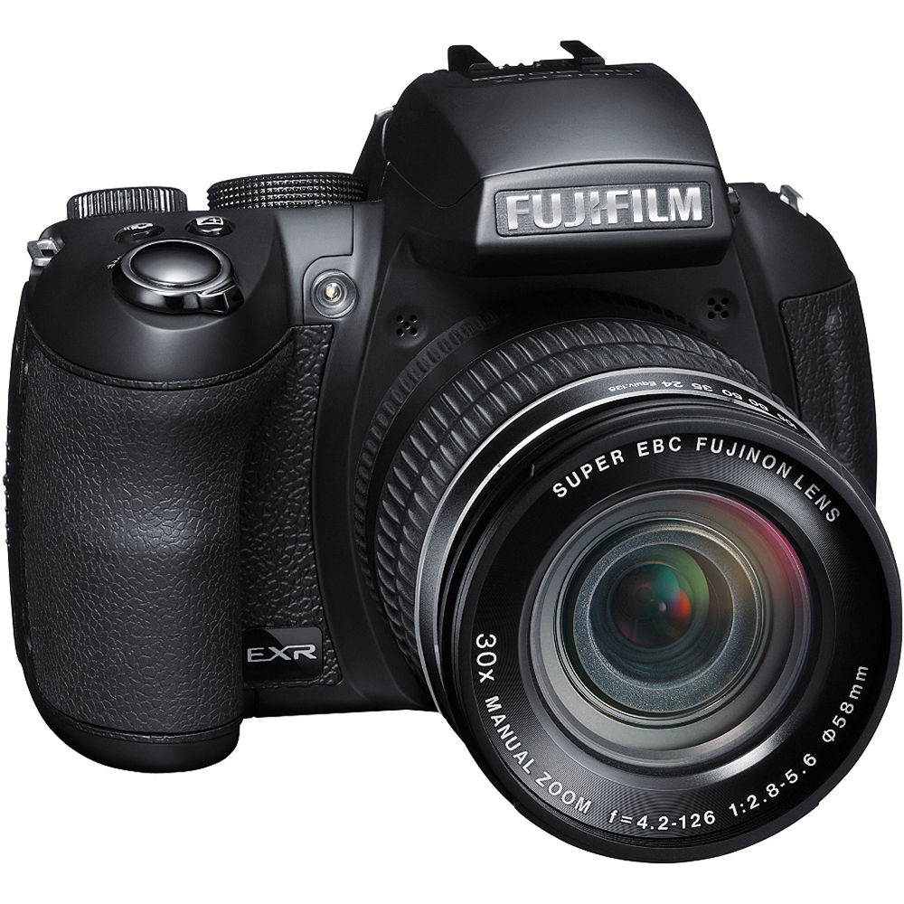 FUJIFILM FinePix HS30EXR Digital Camera (Black)