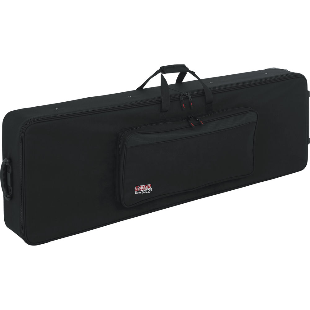 88 key keyboard case with wheels