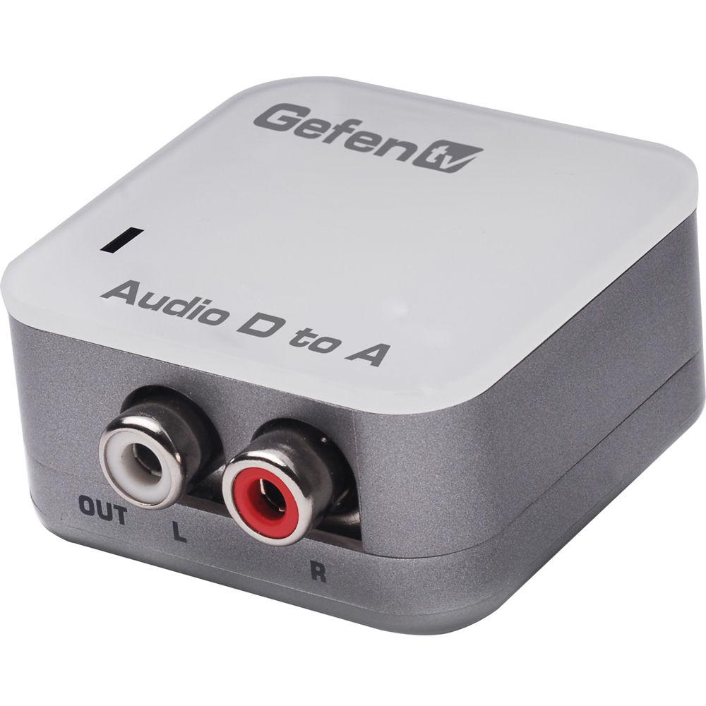 Digital Audio Video Photography: Gefen EXT-DDIGAUD-2-AAUD GefenTV Digital Audio GTV-DIGAUD