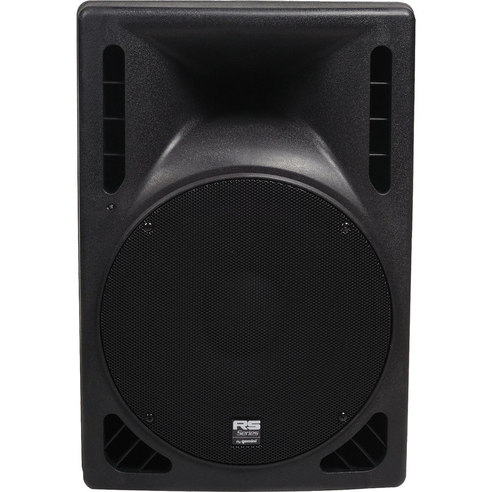 """Gemini RS-415USB 15"""" 1200W 2-Way Active Loudspeaker with USB and SD"""