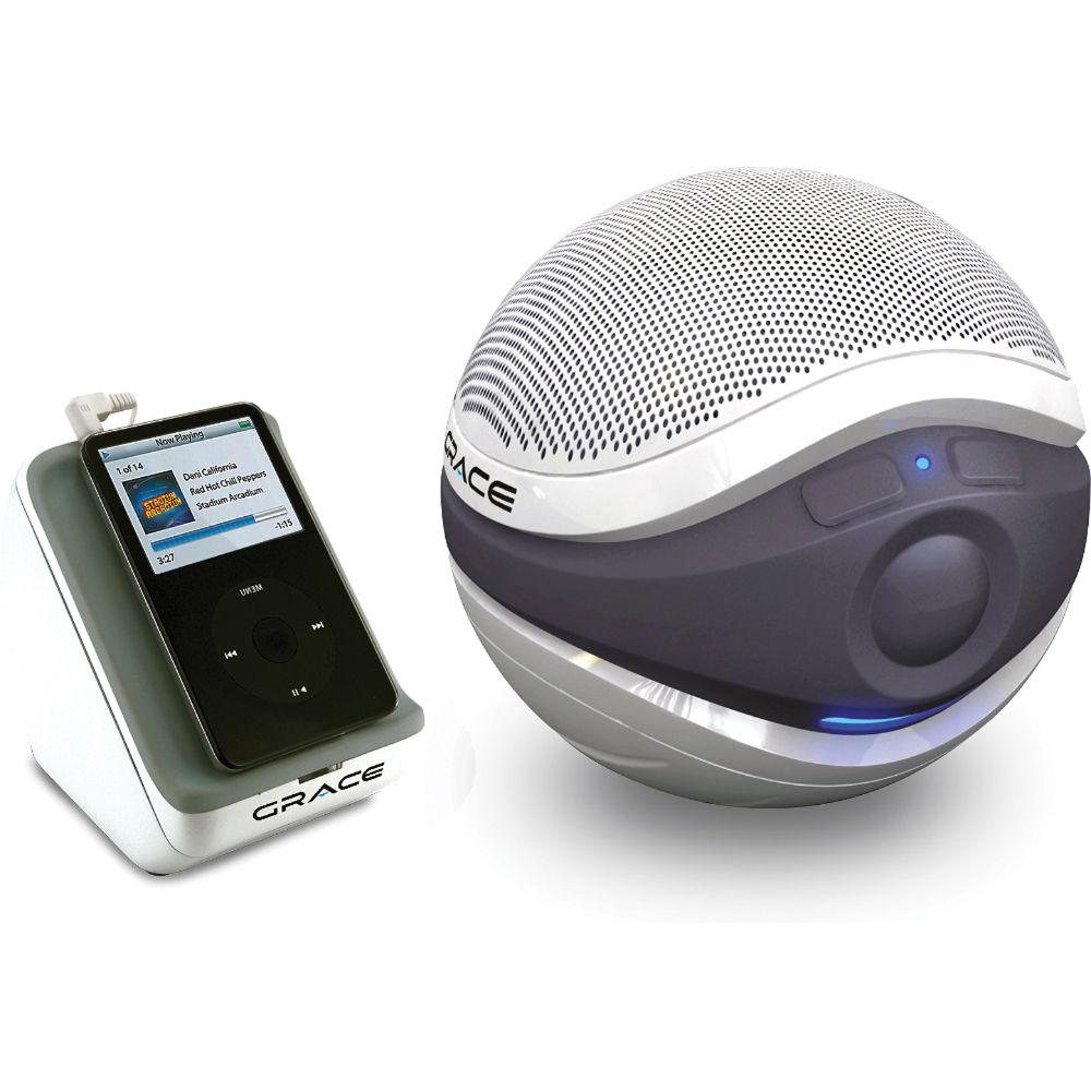 Grace Digital Aqua Sounder - Floating Wireless Speaker AQSTR400W