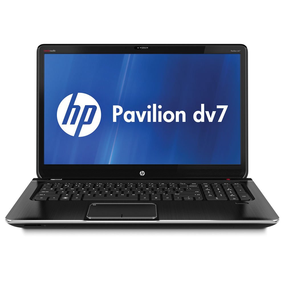 hp pavilion dv7 7010us 17 3 notebook computer b5s15ua aba. Black Bedroom Furniture Sets. Home Design Ideas