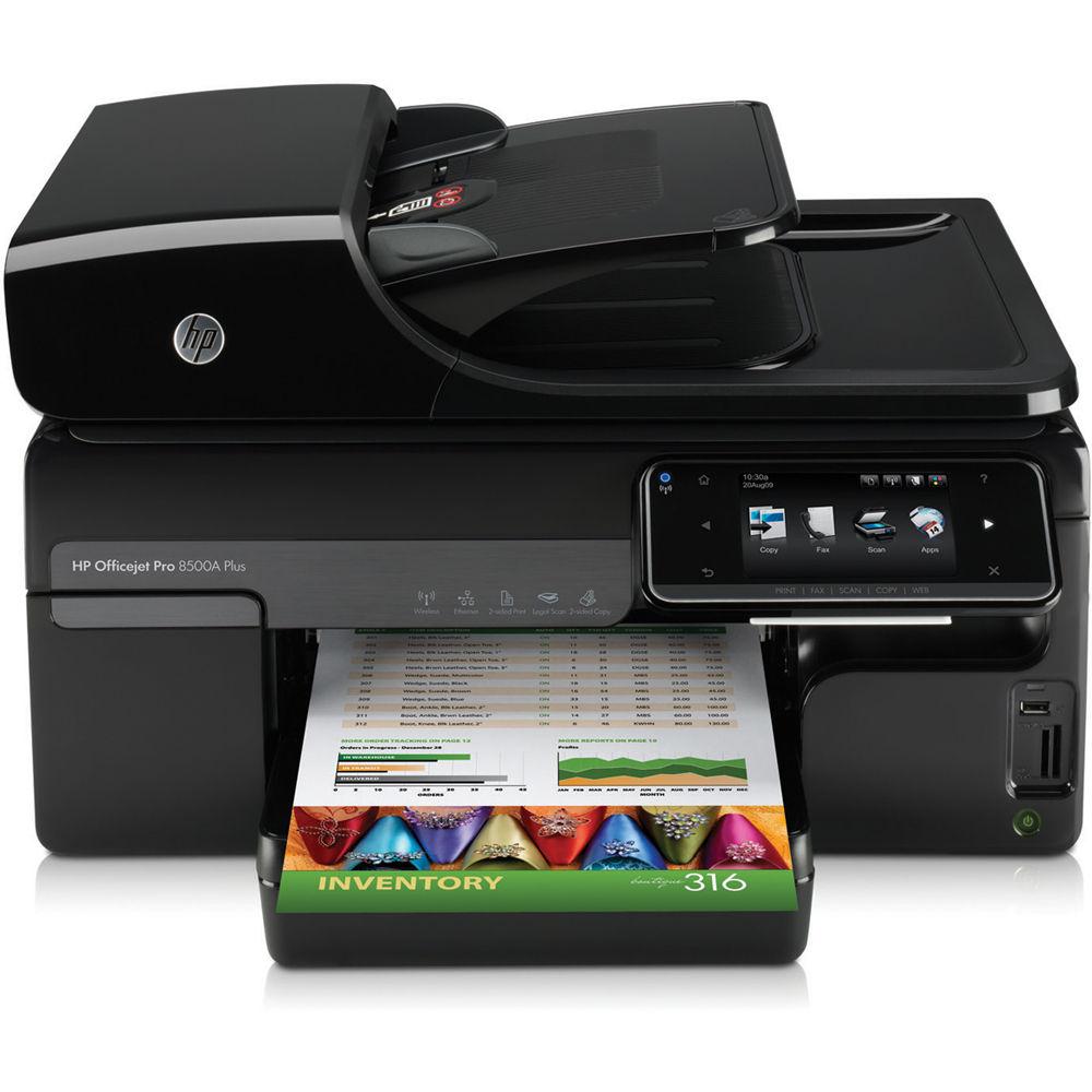 HP Officejet Pro 8500A Plus e-All-in-One Wireless Inkjet Printer