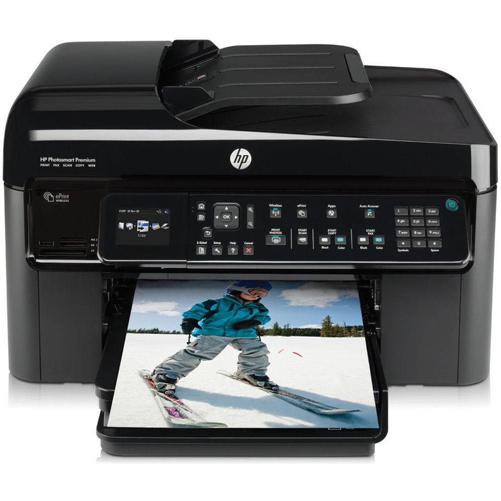 Hp photosmart premium fax e-all-in-one specs cnet.