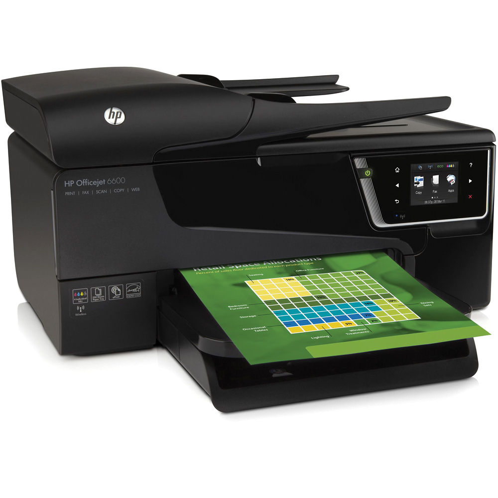 HP Officejet 6600 Premium Wireless Color e-All-in-One ...