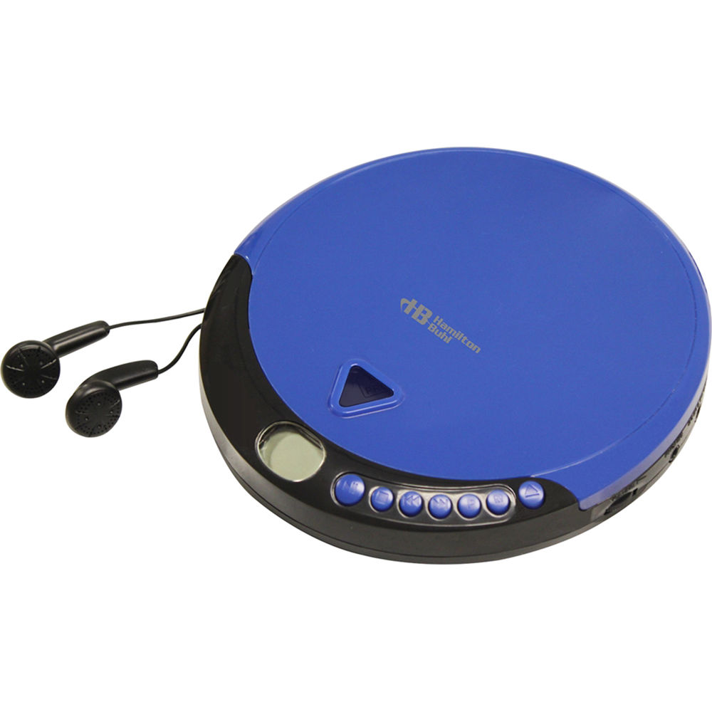 hamiltonbuhl hacx 114 portable cd player with 60 second hacx 114