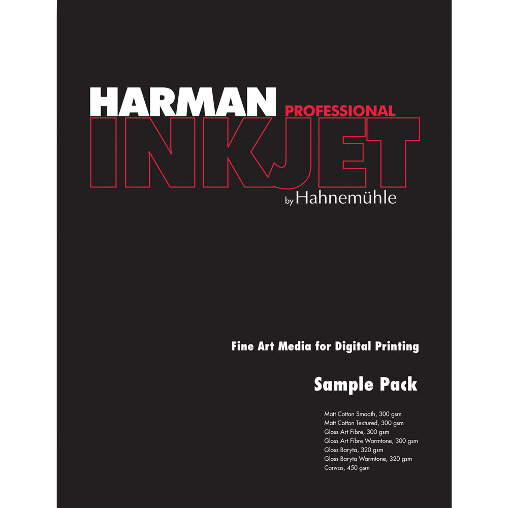 Harman By Hahnemuhle Sampler Pack for Inkjet 13633700 B&H Photo