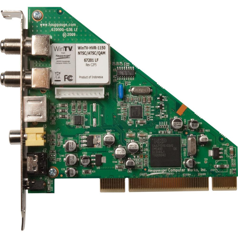 Hauppauge WinTV-HVR-1150 Internal HDTV Card 1288 B&H Photo ...