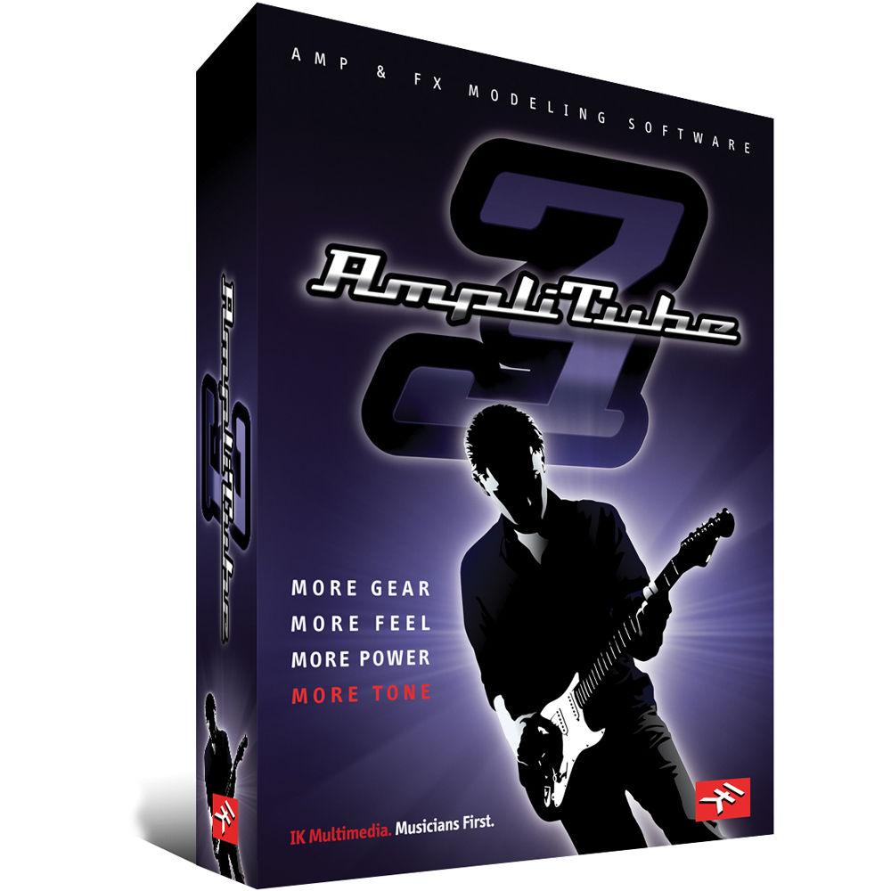 IK Multimedia AmpliTube 3 - Guitar and Bass Amp AT-300-UPG-IN