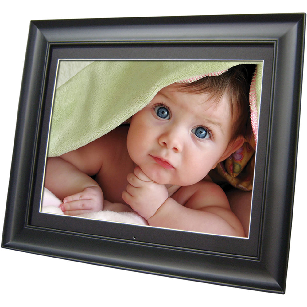Digital Picture Frame Clock, Clock with Photo Frame