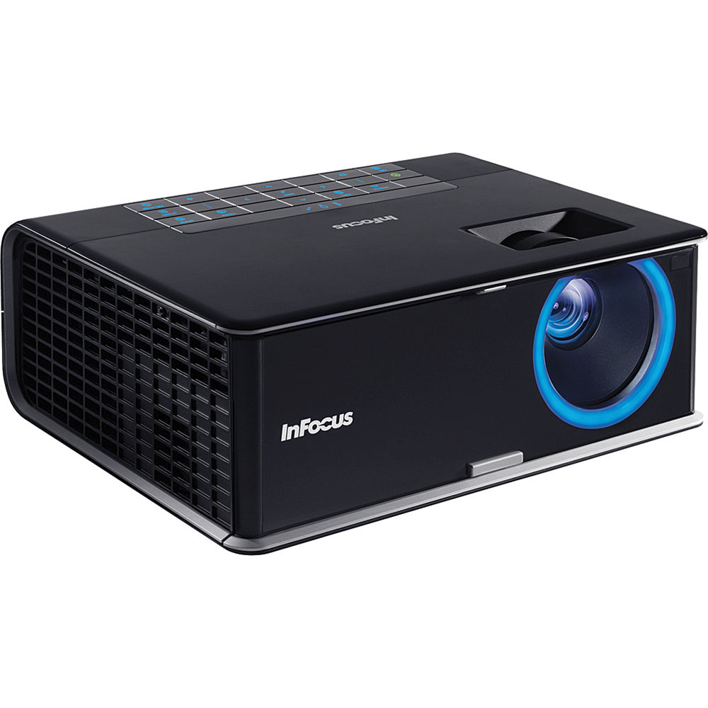 infocus in3114 xga 3500 ansi lumens projector in3114 b h photo. Black Bedroom Furniture Sets. Home Design Ideas