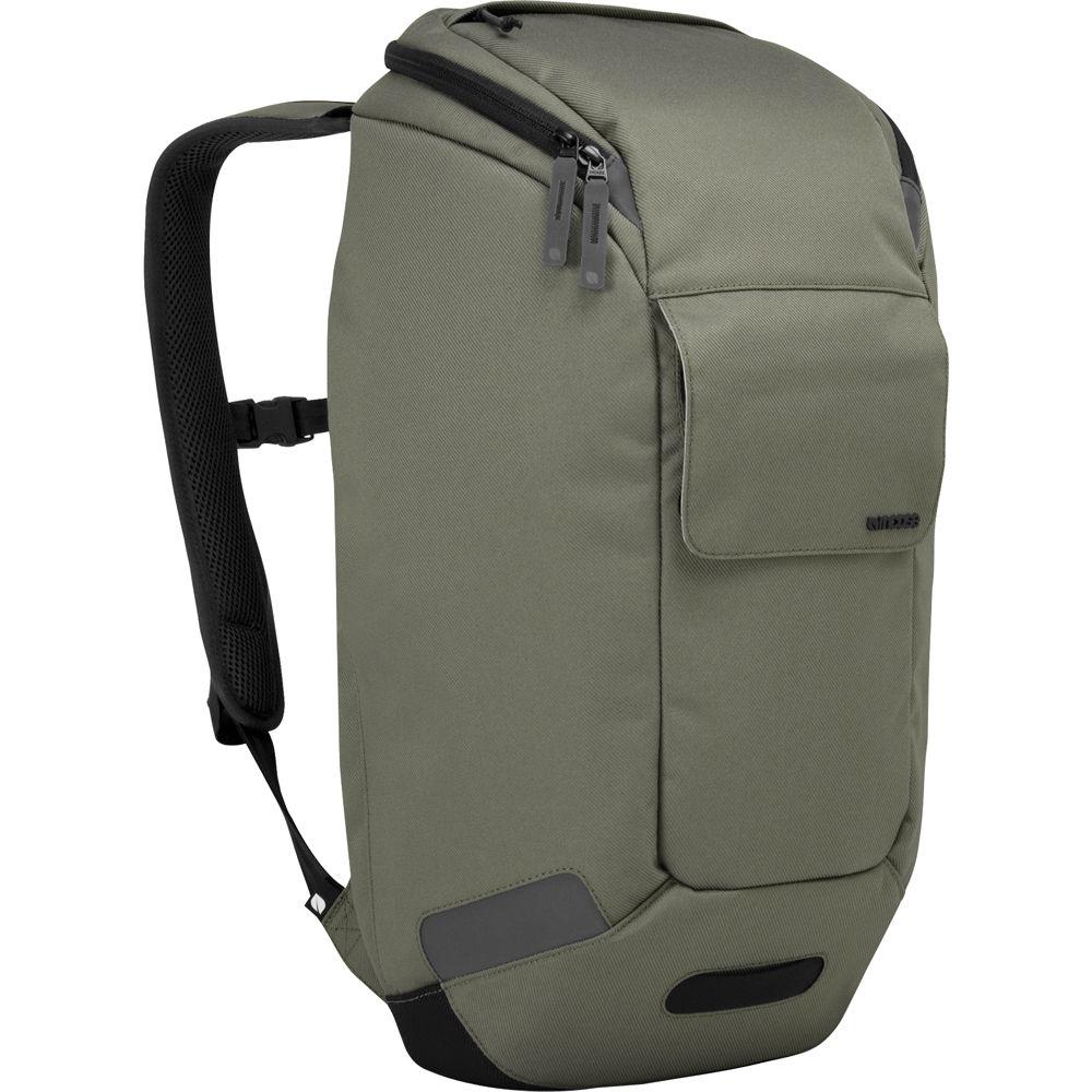 35870734ee Incase Designs Corp Range Backpack (Moss Green) CL55396 B H