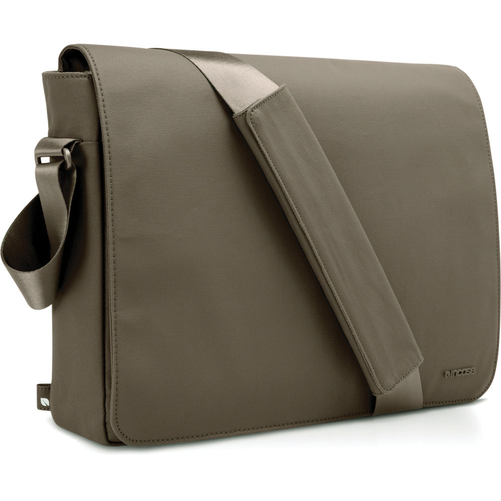 Incase Coated Canvas Shoulder Bag In Taupe 30