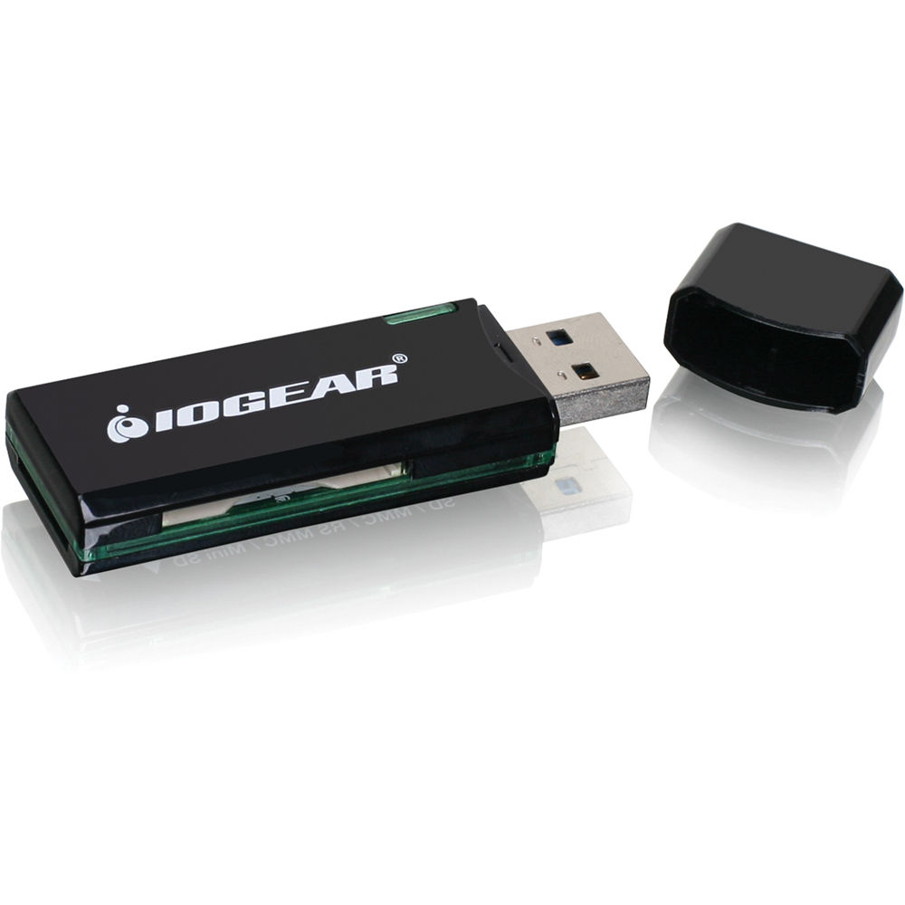 Iogear Superspeed Usb 31 Gen 1 Sdmicrosd Card Gfr304sd Bh