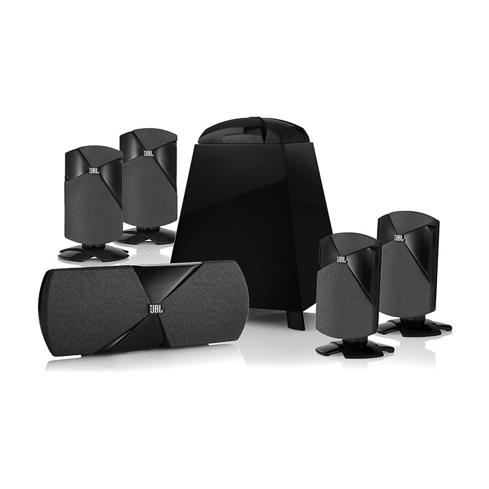 jbl cinema 300 5 1 surround sound home theater cinema 300 b h. Black Bedroom Furniture Sets. Home Design Ideas