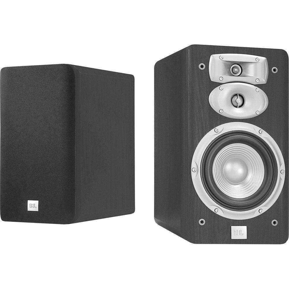 JBL L830 3 Way 6 Bookshelf Speakers Pair Black