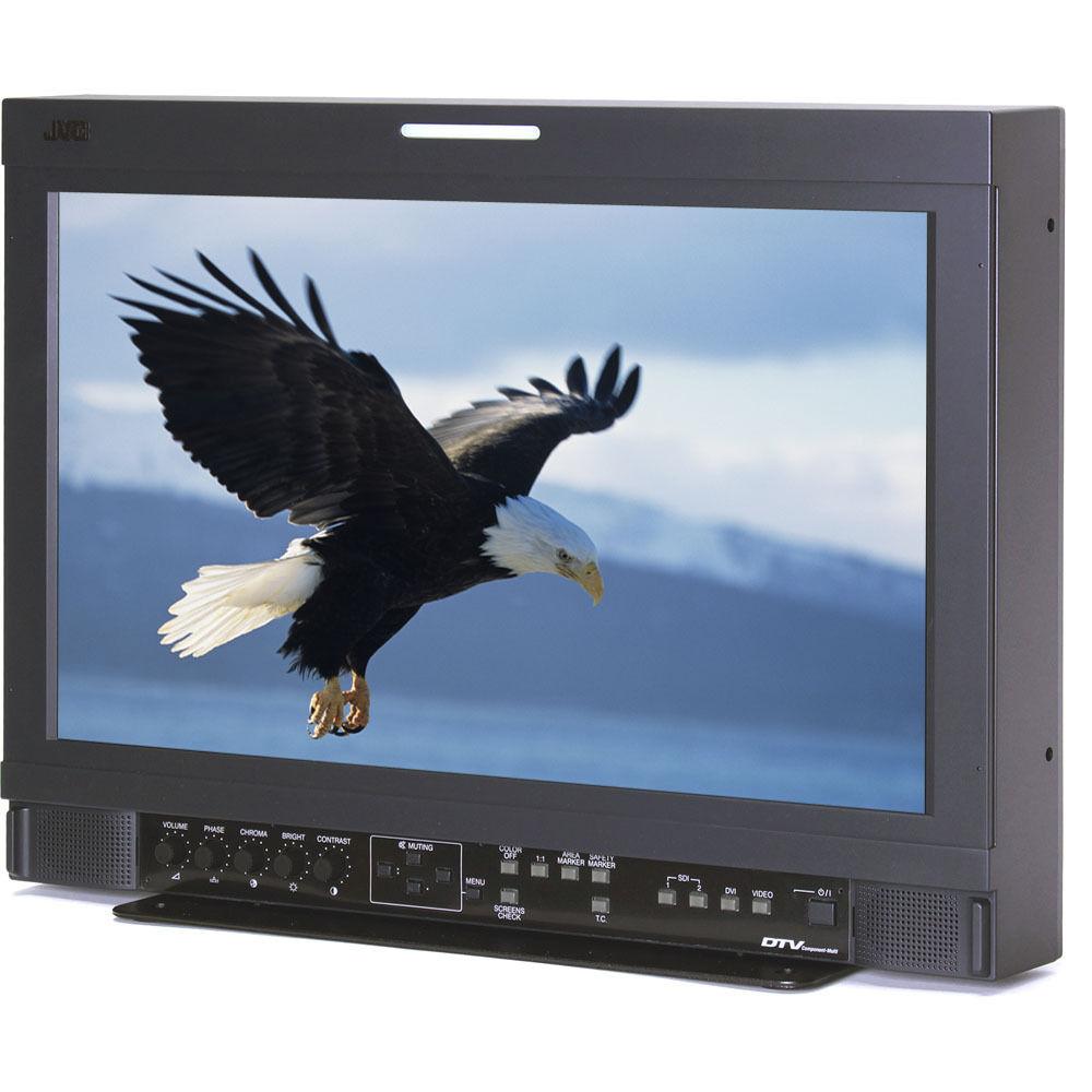 """JVC DT-R17L4DU 17"""" Studio Monitor w/HD-SDI"""