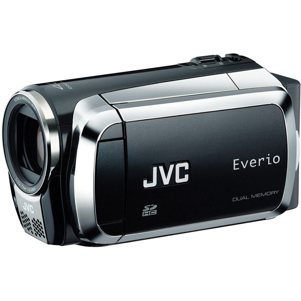 jvc everio ms120 dual flash camcorder manual