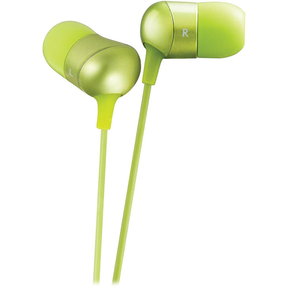 a9950695b08 JVC HA-FX35 Marshmallow In-Ear Stereo Headphones (Green)