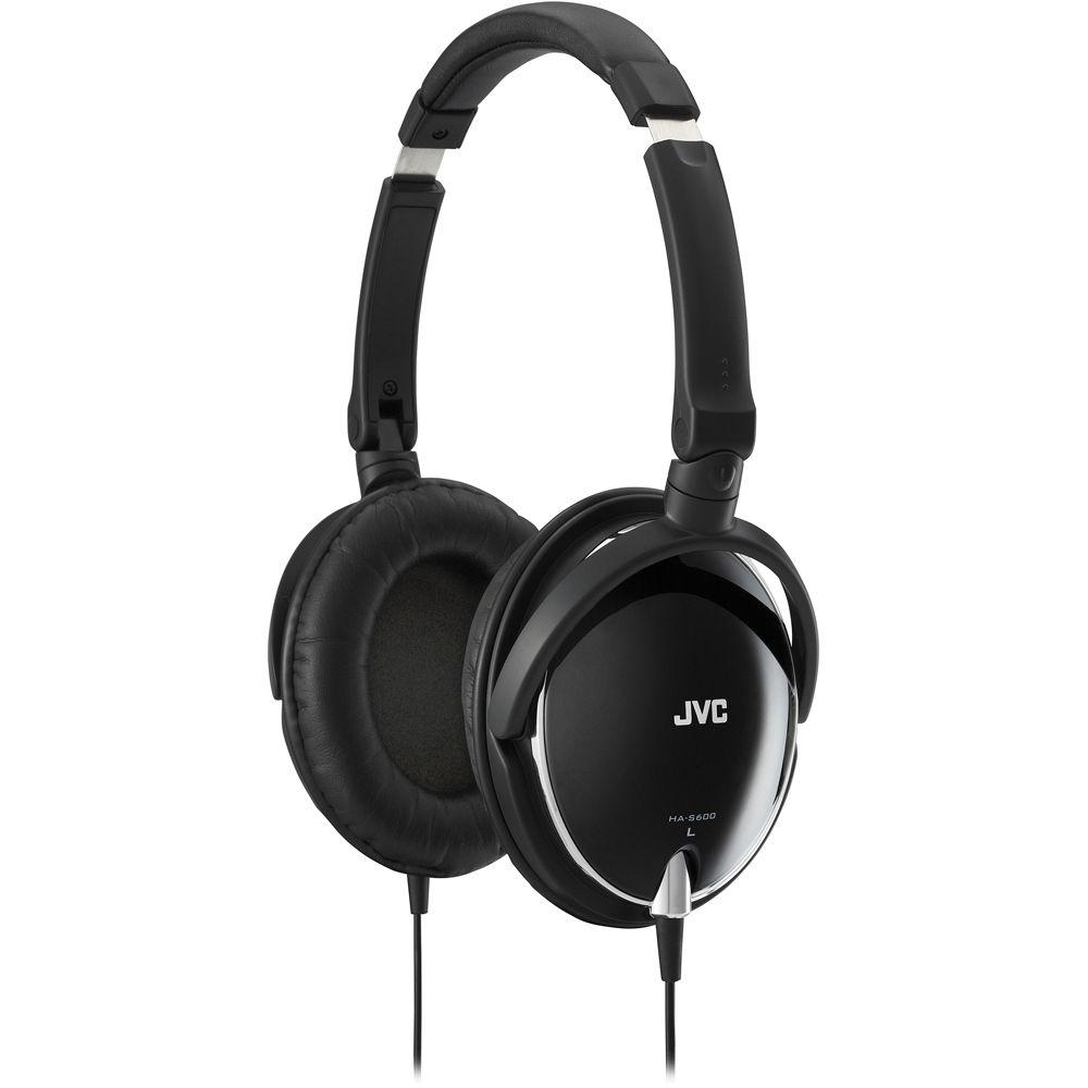 Jvc Earphone Ha En Black Fx8 Riptidz Iem S600 Foldable Around Ear Stereo Headphones
