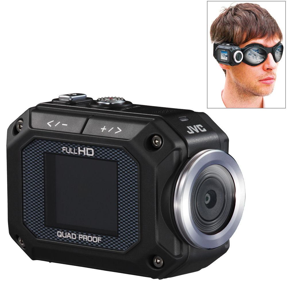 jvc gc xa1 adixxion action camcorder gc xa1bus b h photo video rh bhphotovideo com Action Camera JVC Xa1bu GC JVC Action Camera Accessories