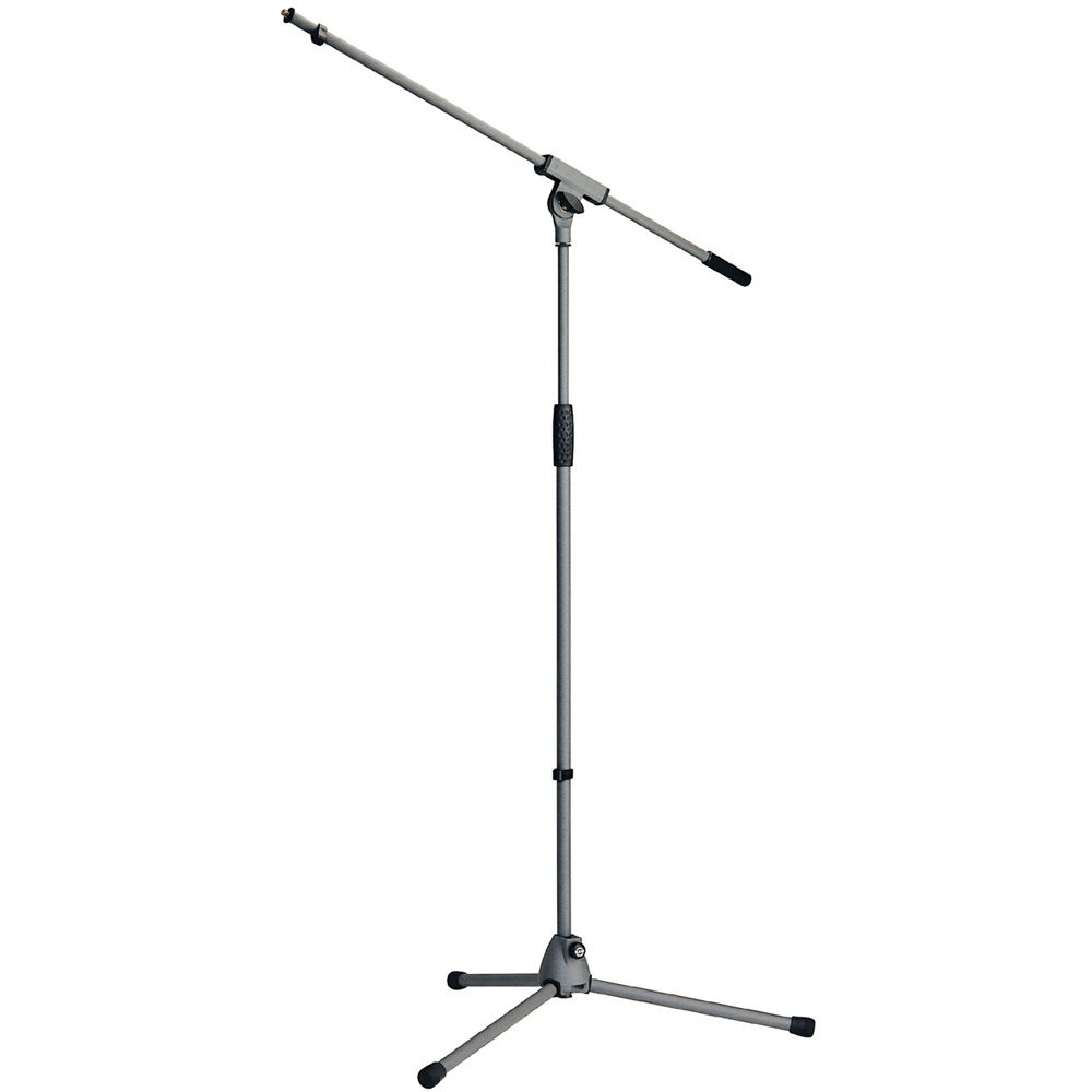 k m km21060 microphone boom stand soft touch gray 21060 500 87. Black Bedroom Furniture Sets. Home Design Ideas