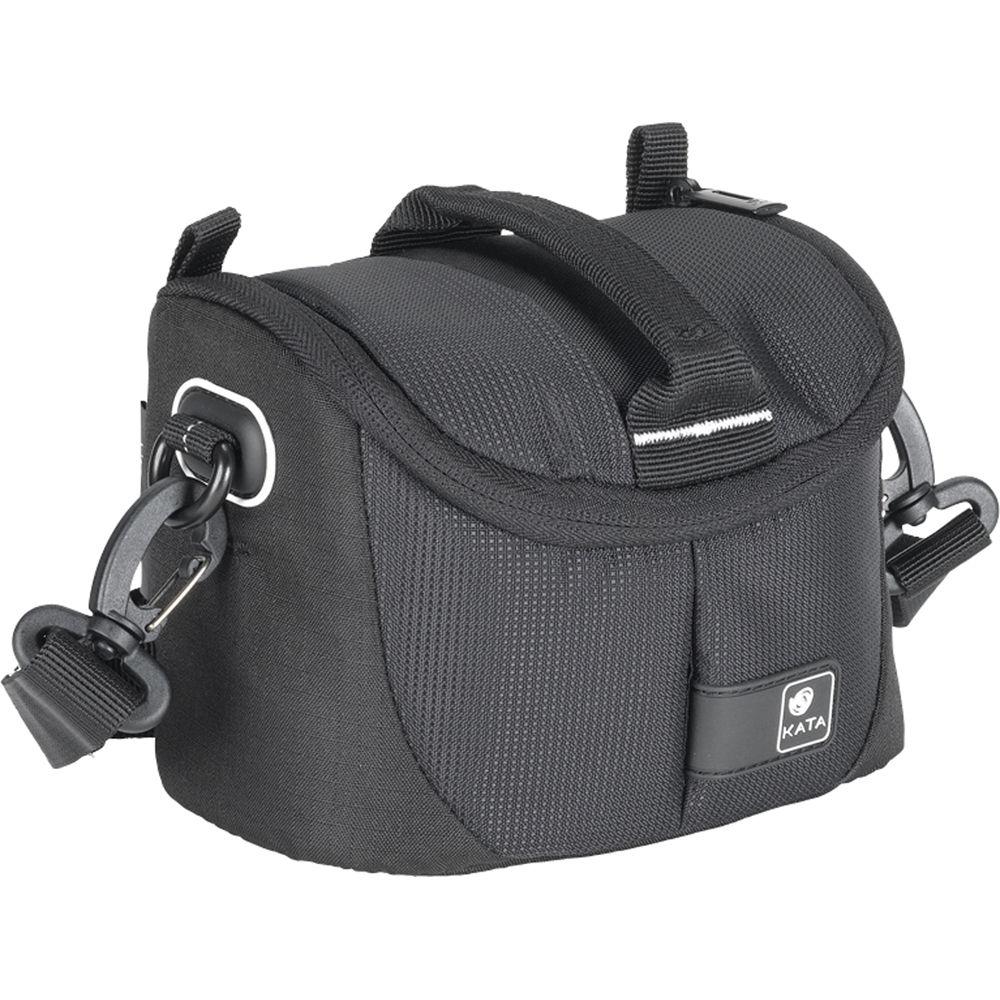 Kata Lite-431 DL Shoulder Bag for Point Shoot Camera or Handycam (Black)