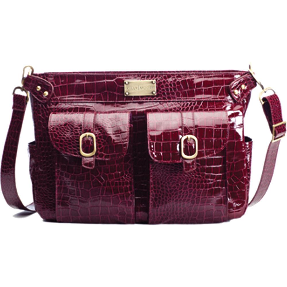 kelly moore bag classic bag cranberry croc kmb ber b h photo. Black Bedroom Furniture Sets. Home Design Ideas