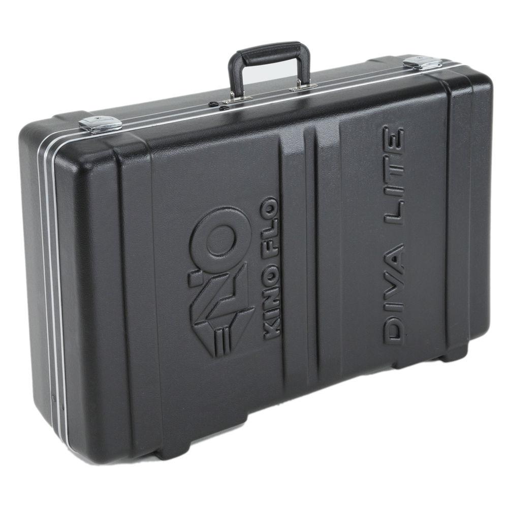 Kino flo clamshell travel case for one diva lite 201 kas d2 cs for Clamshell casing